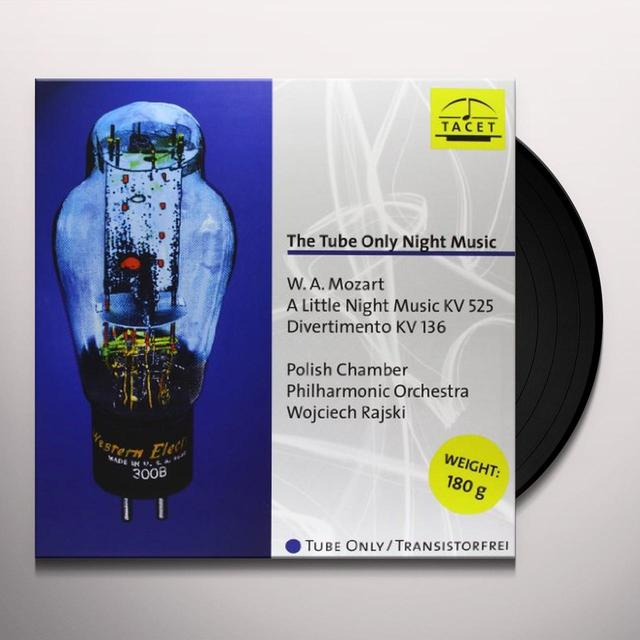 Mozart / Polnische Kammerphilharmonie TUBE ONLY NIGHT MUSIC Vinyl Record