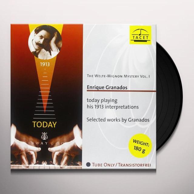 Enrique Granados / Granados WELTE-MIGNON MYSTERY 1 Vinyl Record