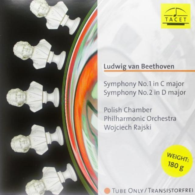Beethoven / Polnische Kammerphilharmonie SYMPHONIES 1 & 2 Vinyl Record