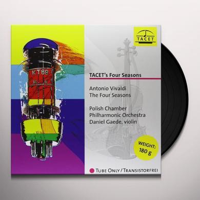 Vivaldi / Gaede / Polish Chamber Philharmonic Orch TACETS FOUR SEASONS Vinyl Record