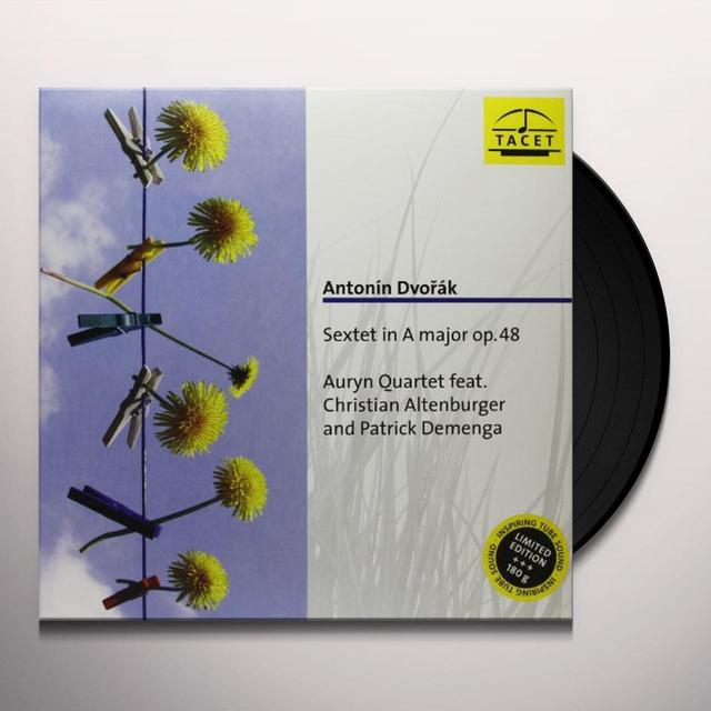 Dvorak / Auryn Quartet AURYN SERIES 32: SEXTET IN A MAJOR OP 48 Vinyl Record