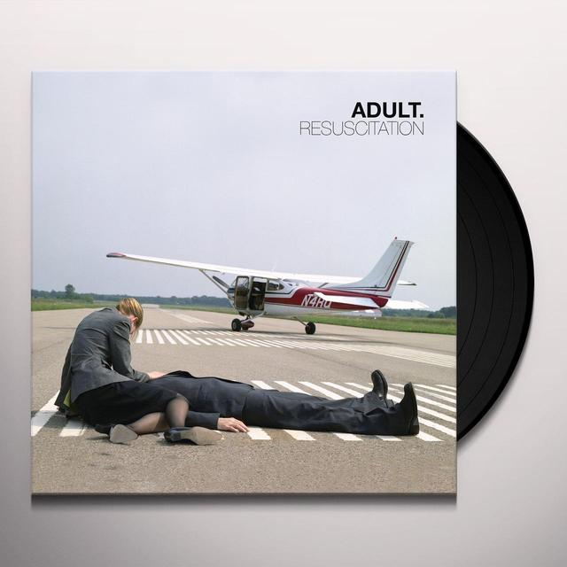 ADULT. RESUSCITATION (BONUS TRACKS) Vinyl Record - Digital Download Included