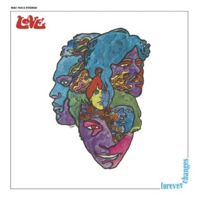 Love FOREVER CHANGES Vinyl Record