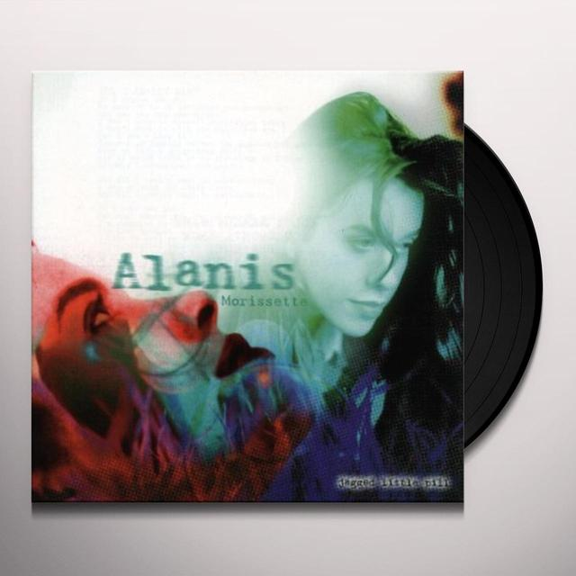 Alanis Morissette JAGGED LITTLE PILL Vinyl Record - 180 Gram Pressing