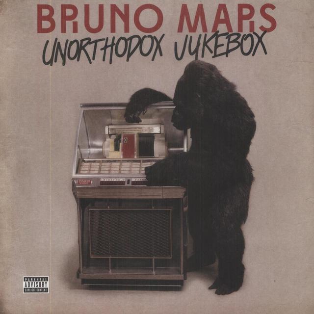 Bruno Mars UNORTHODOX JUKEBOX Vinyl Record
