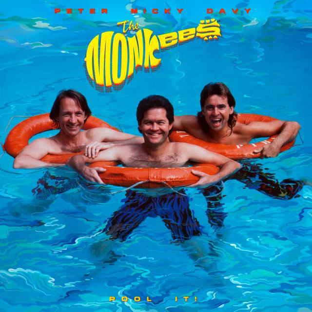 The Monkees POOL IT Vinyl Record - Colored Vinyl, Limited Edition