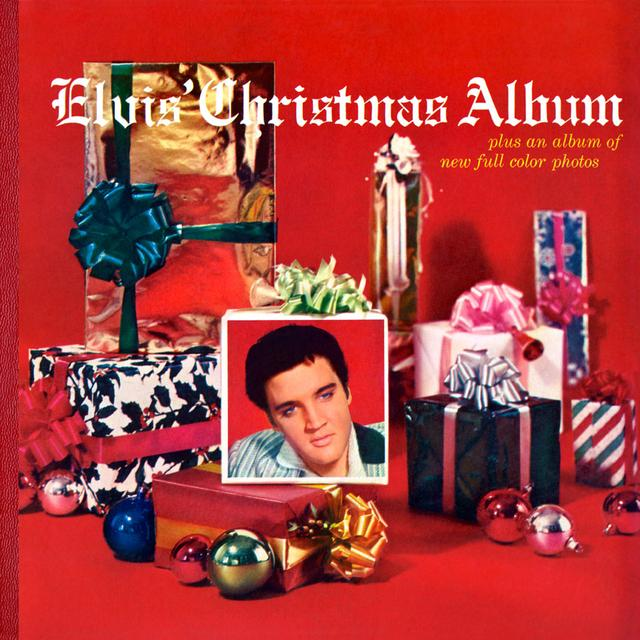 ELVIS CHRISTMAS ALBUM Vinyl Record