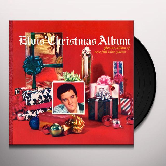 ELVIS CHRISTMAS ALBUM Vinyl Record - Limited Edition, 180 Gram Pressing, Anniversary Edition