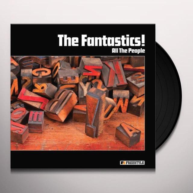 The Fantastics ALL THE PEOPLE Vinyl Record