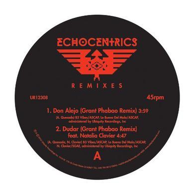 Echocentrics / Grant Phabao ECHOCENTRICS REMIXES Vinyl Record