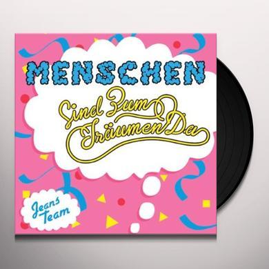Jeans Team MENSCHEN (SIND ZUM TRAUMEN DA) Vinyl Record