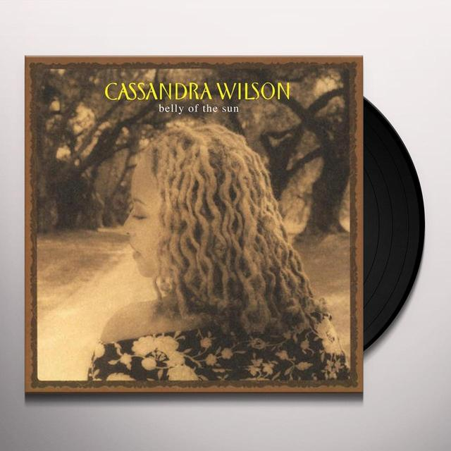 Cassandra Wilson BELLY OF SUN Vinyl Record - 180 Gram Pressing
