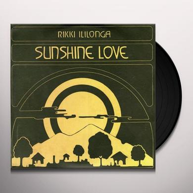 Rikki Ililonga SUNSHINE LOVE Vinyl Record