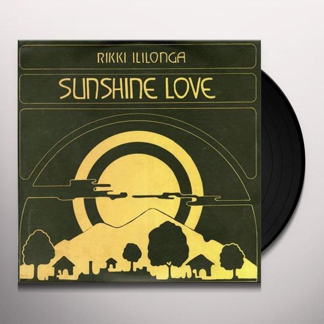 Rikki Ililonga SUNSHINE LOVE Vinyl Record
