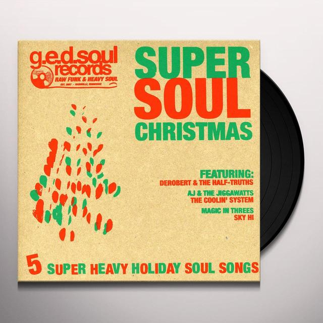 SUPER SOUL CHRISTMAS / VARIOUS Vinyl Record