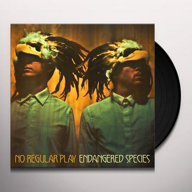 No Regular Play ENDANGERED SPECIES Vinyl Record