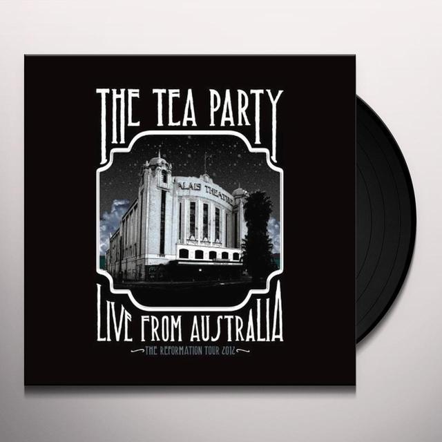 Tea Party LIVE FROM AUSTRALIA Vinyl Record