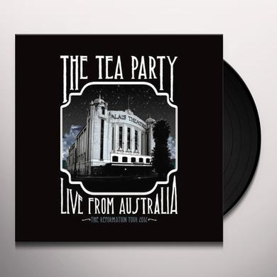 Tea Party LIVE FROM AUSTRALIA Vinyl Record