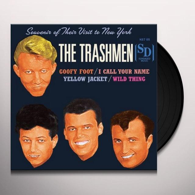 The Trashmen GOOFY FOOT / I CALL YOUR NAME / YELLOW JACKET (EP) Vinyl Record