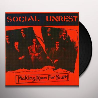 Social Unrest MAKING ROOM FOR YOUTH (EP) Vinyl Record