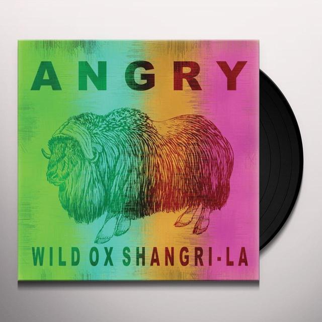 Angry WILD OX SHANGRI-LA Vinyl Record