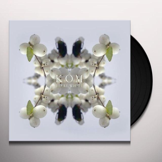Kom BERRY WHITE Vinyl Record