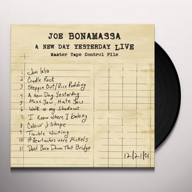 Joe Bonamassa NEW DAY YESTERDAY: LIVE Vinyl Record