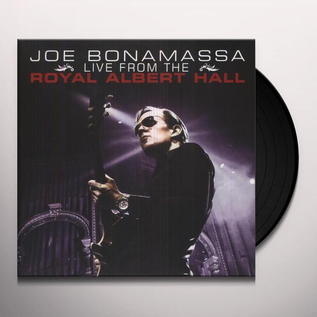 Joe Bonamassa LIVE FROM THE ROYAL ALBERT HALL Vinyl Record