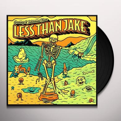 Less Than Jake GREETINGS & SALUTATIONS Vinyl Record