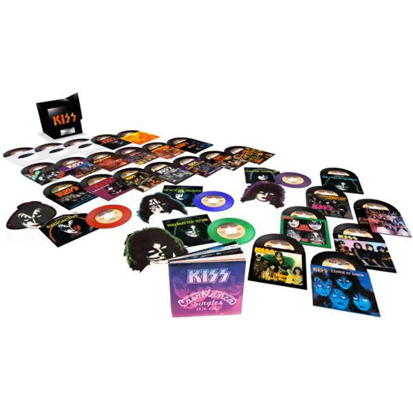 "Kiss The Casablanca Years: Limited Edition 29-Disc 7"" Collection (Vinyl)"
