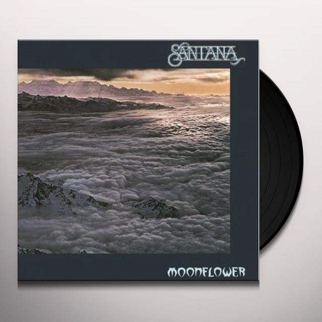 Santana MOONFLOWER Vinyl Record - Holland Import
