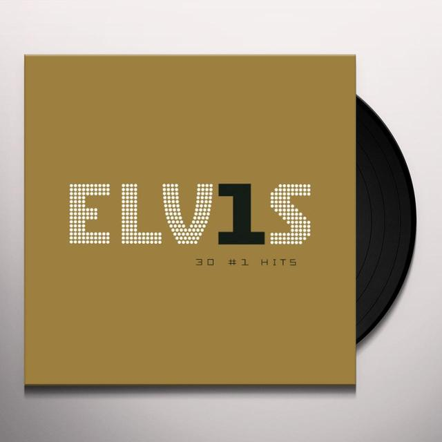 Elvis Presley 30 NUMBER 1 HITS Vinyl Record - Holland Release