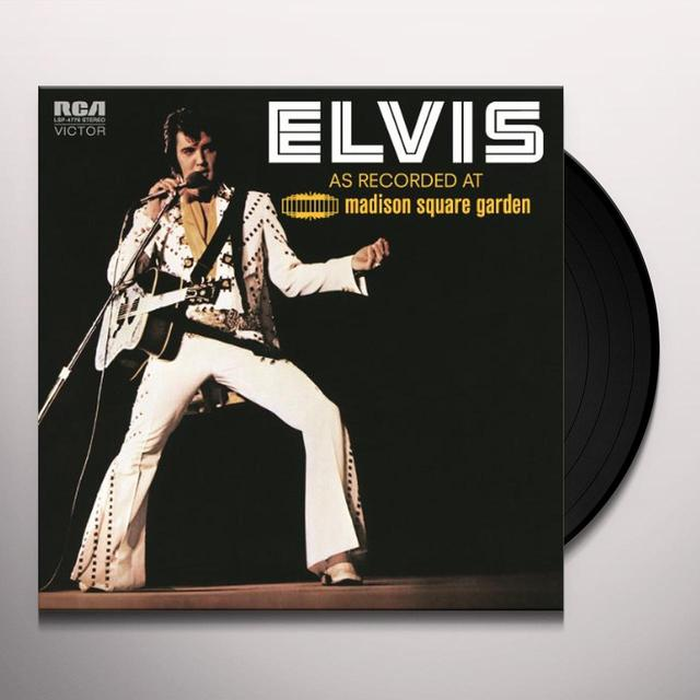Elvis Presley AS RECORDED AT MADISON SQUARE GARDEN Vinyl Record - Holland Import