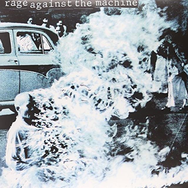 RAGE AGAINST THE MACHINE (COLOR VINYL) Vinyl Record - 180 Gram Pressing