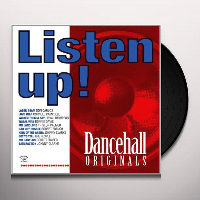 LISTEN UP DANCEHALL / VARIOUS Vinyl Record