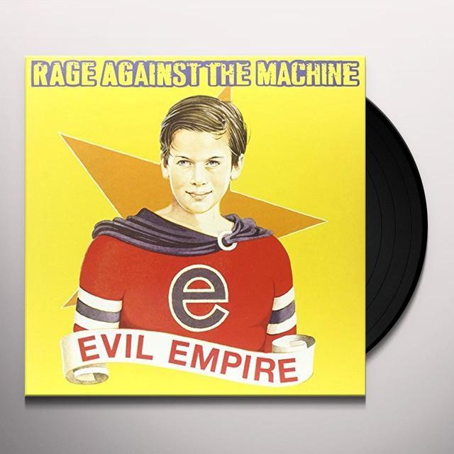 Rage Against The Machine EVIL EMPIRE (COLOR VINYL) Vinyl Record - 180 Gram Pressing