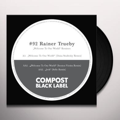 Rainer Trueby COMPOST BLACK LABEL 92 Vinyl Record
