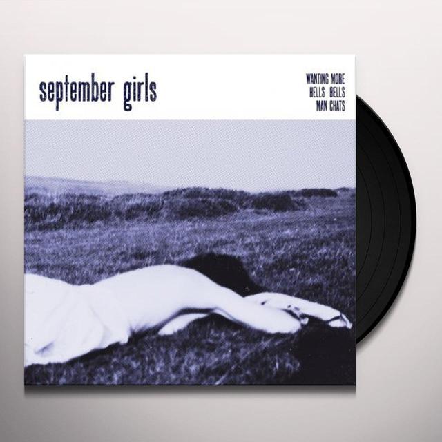 September Girls WANTING MORE Vinyl Record