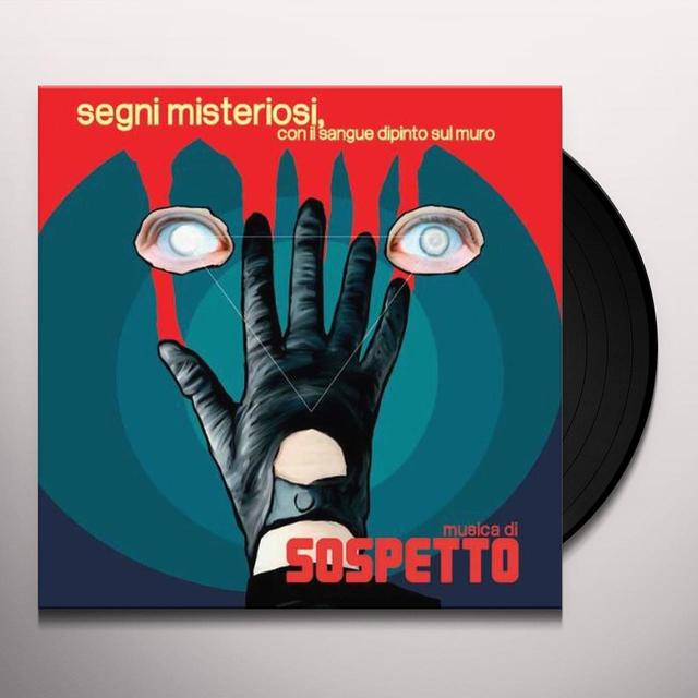 Sospetto SEGNI MISTERIOSI CON IL SANGUE DIPINTO SUL MURO (Vinyl)