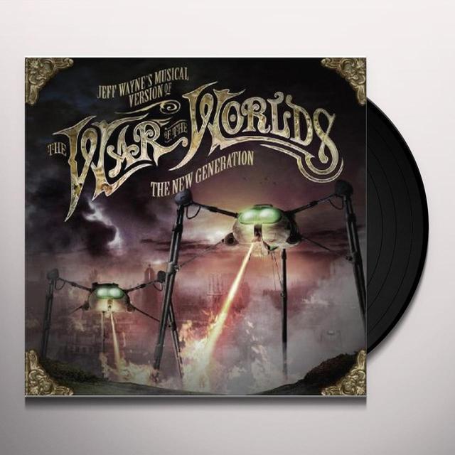 JEFF WAYNE'S MUSICAL VERSION OF THE WAR (Vinyl)