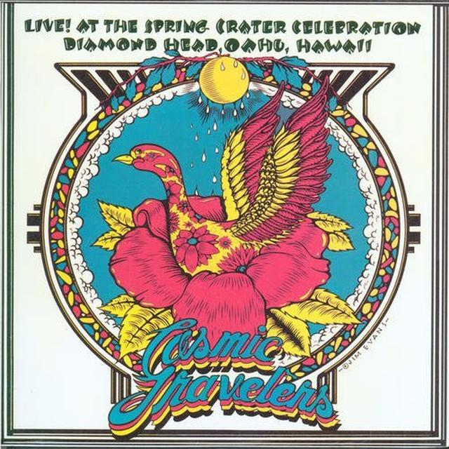 Cosmic Travelers LIVE AT THE SPRING CRATER CELEBRATION Vinyl Record