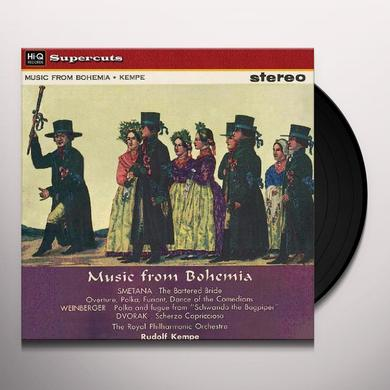 Kempe / Royal Philharmonic Orchestra MUSIC FROM BOHEMIA Vinyl Record