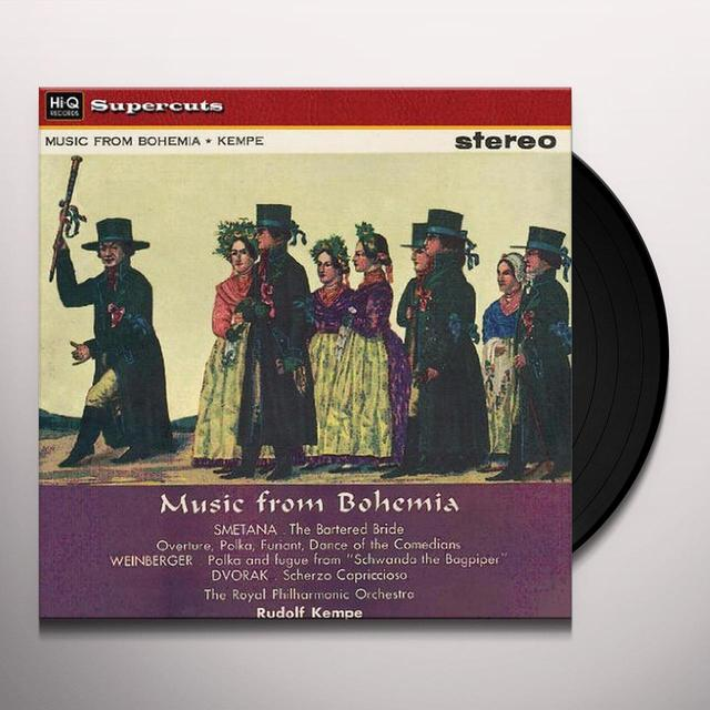 Kempe / Royal Philharmonic Orchestra MUSIC FROM BOHEMIA Vinyl Record - 180 Gram Pressing