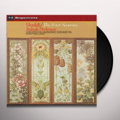 Vivaldi / Perlman / Royal Philharmonic Orchestra FOUR SEASONS Vinyl Record - 180 Gram Pressing