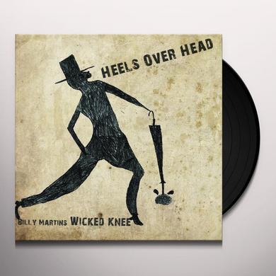 Billy Martin HEELS OVER HEAD Vinyl Record