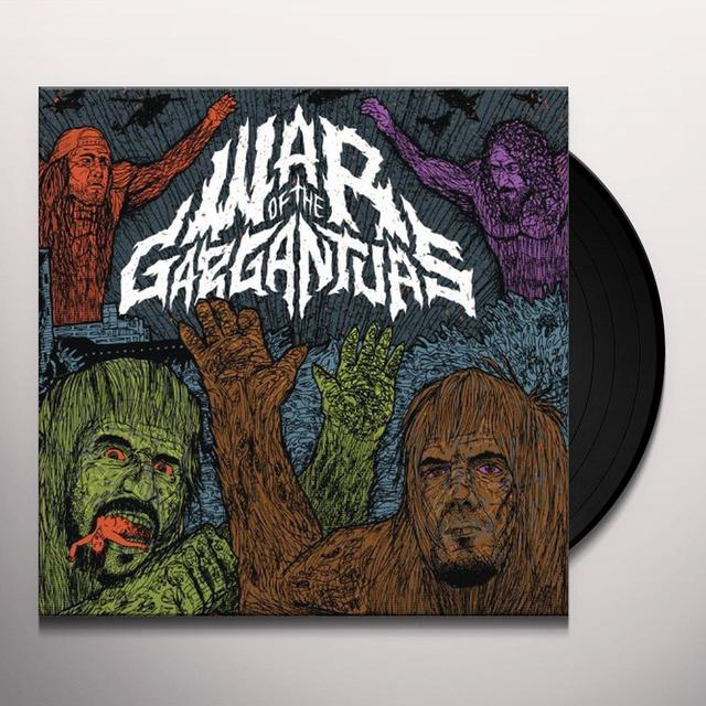 Philip H / Warbeast Anselmo WAR OF THE GARGANTUAS Vinyl Record