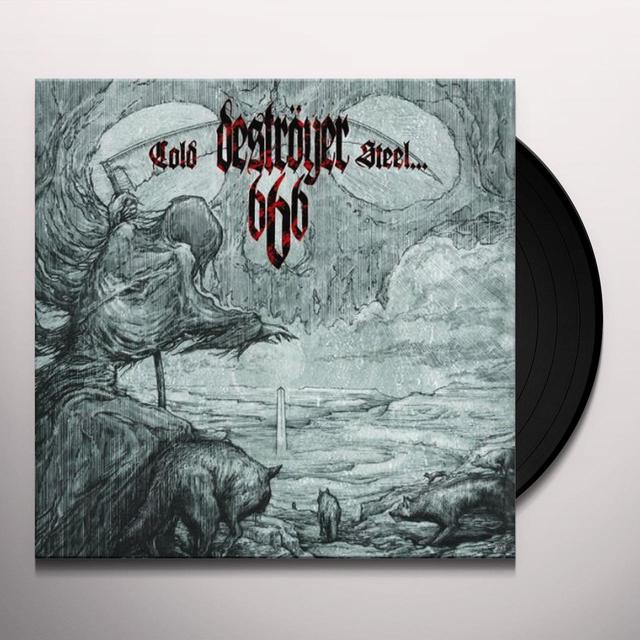 Destroyer 666 COLD STEEL FOR AN IRON AGE Vinyl Record