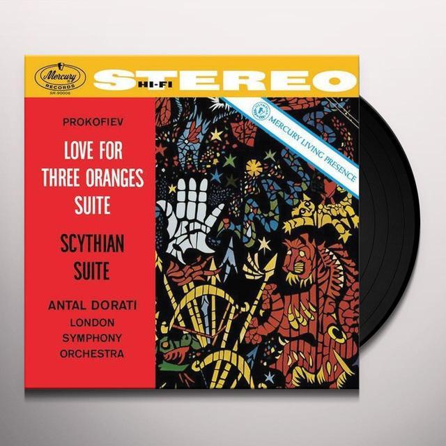 Prokofiev / Dorati / London Symphony Orchestra LOVE FOR THREE ORANGES SUITE Vinyl Record - 180 Gram Pressing