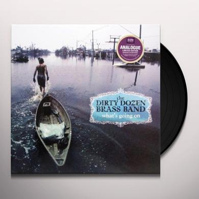 Dirty Dozen Brass Band WHAT'S GOING ON Vinyl Record - 180 Gram Pressing