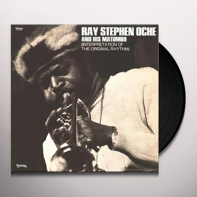 Ray Stephen Oche & His Matumbo INTERPRETATION OF THE ORIGINAL RHYTHM Vinyl Record